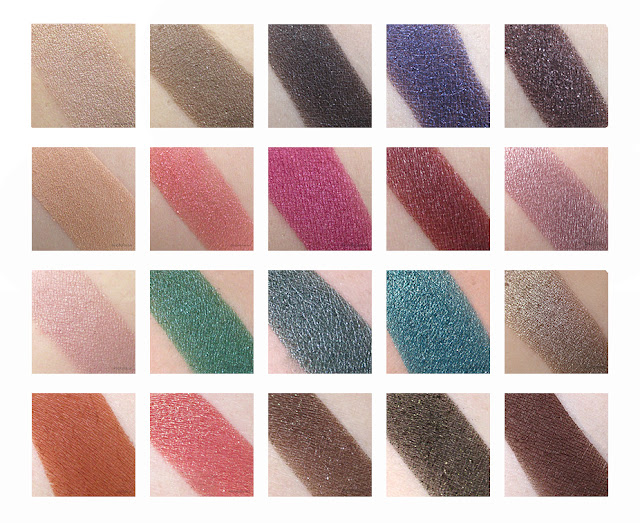 Urban Decay Holiday 2015 Vice 4 Swatches