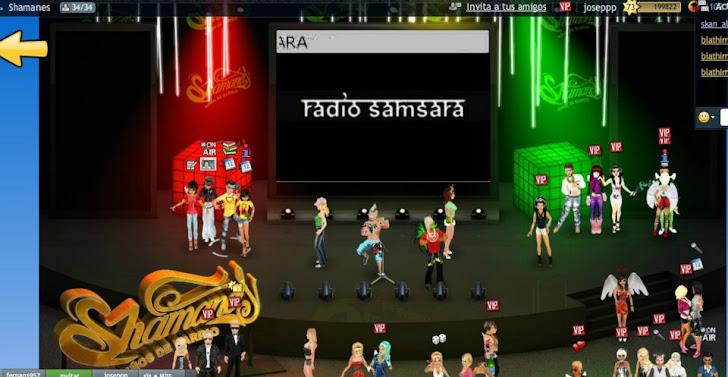 PREESTRENO RADIO SAMSARA EN SMEET