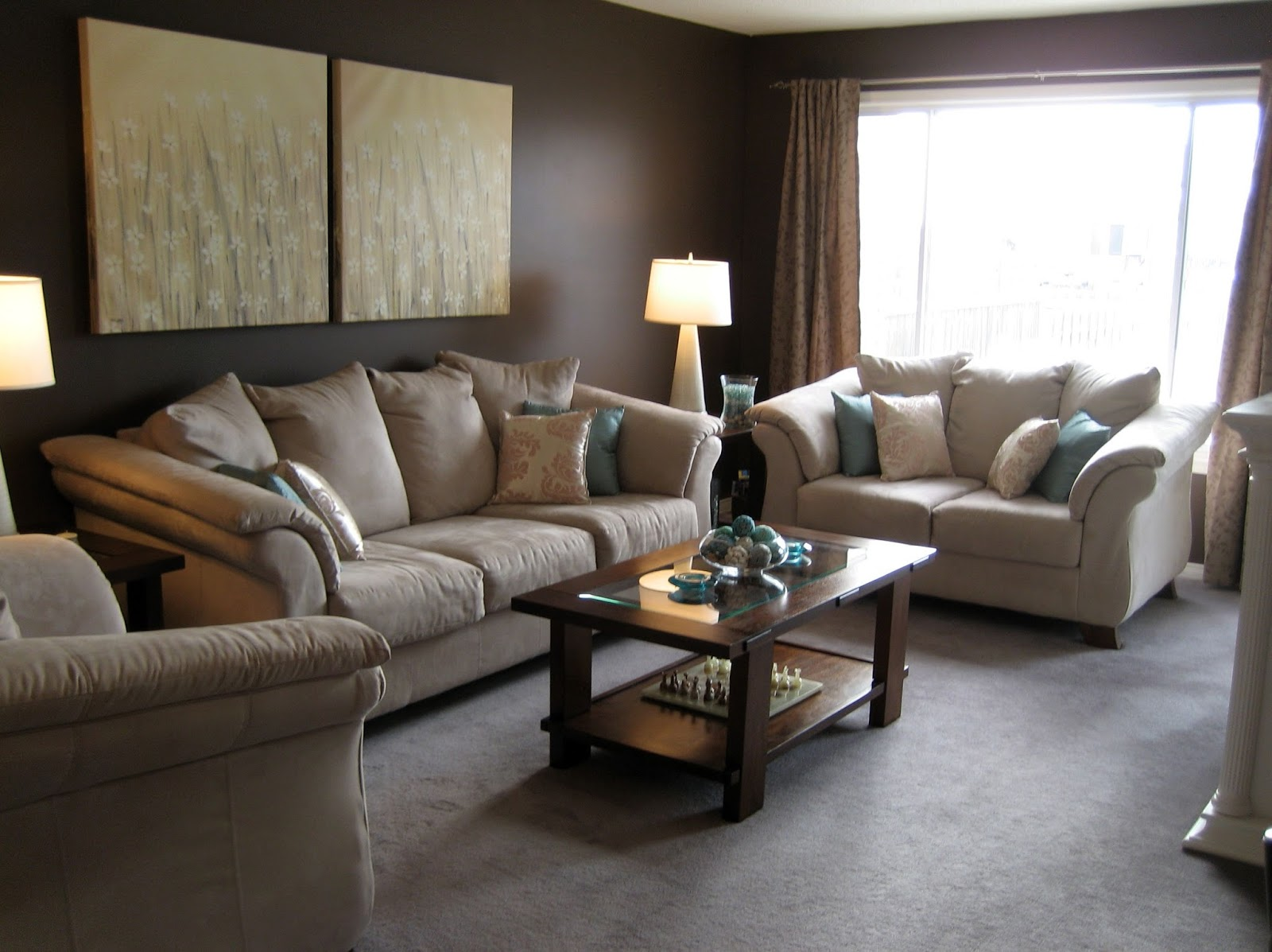 brown living room ideas decorating with modern furniture | home
