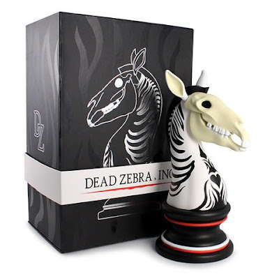 Black & White Edition The Last Knight Vinyl Figure by Andrew Bell