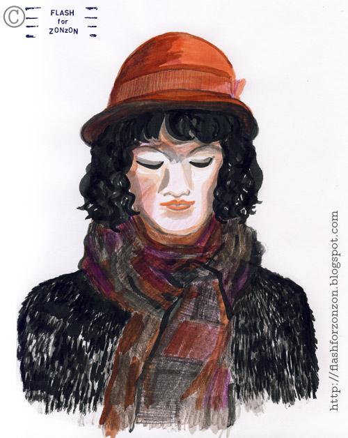 Street Style Helsinki, Red hat girl.