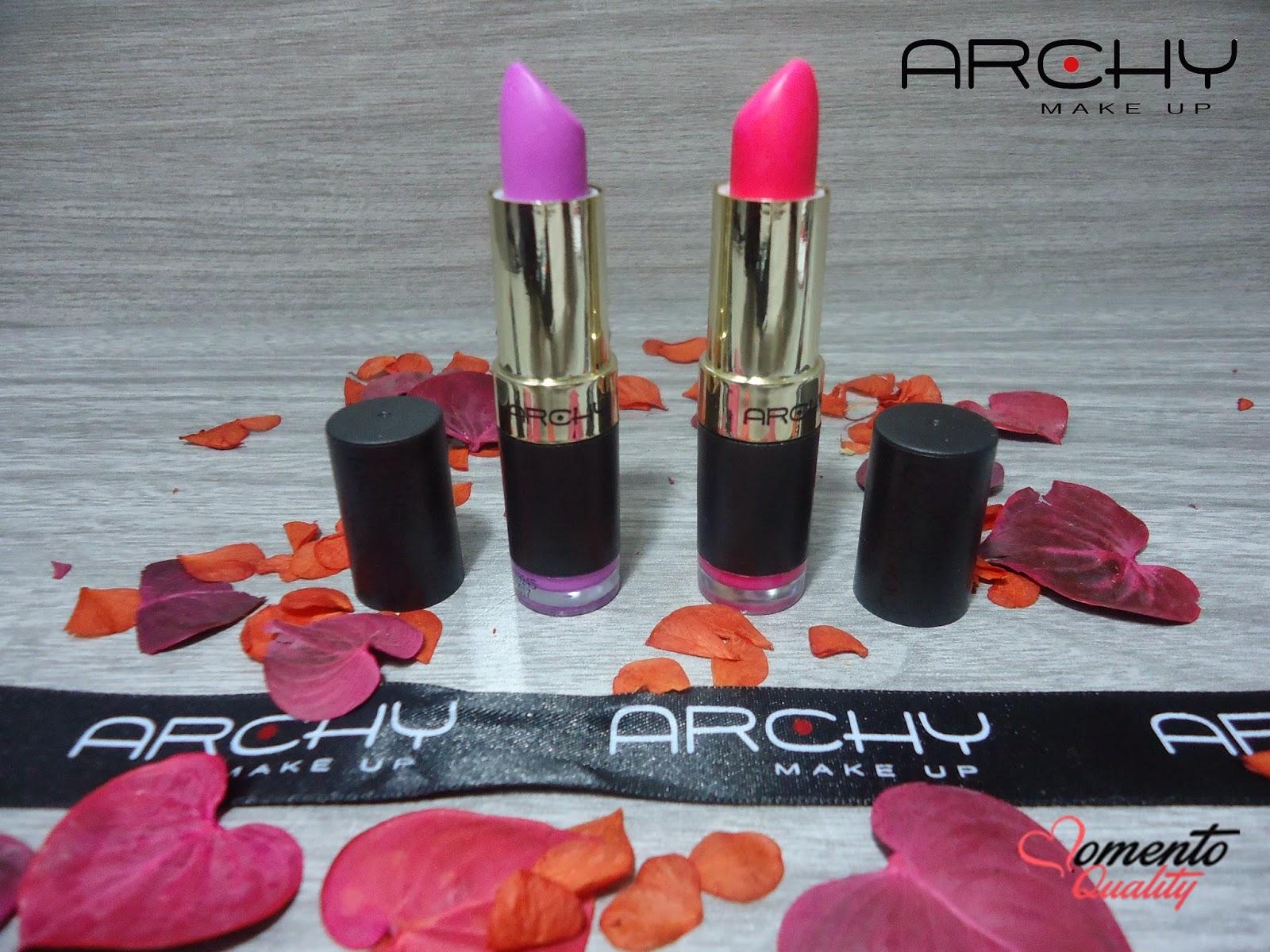 Batom Archy Make Up Momento Quality