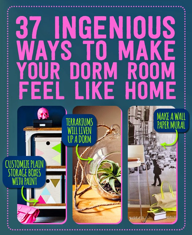 37 Ingenious Ways To Make Your Dorm Room Feel Like Home