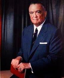 John Edgar Hoover KBE (1 de enero de 1895 – 2 de mayo de 1972)