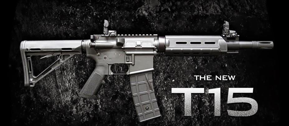 Тактический пейнтбольный маркер Tiberius T15.
