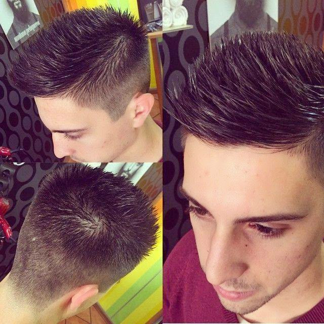 fresh looking hairstyle for men