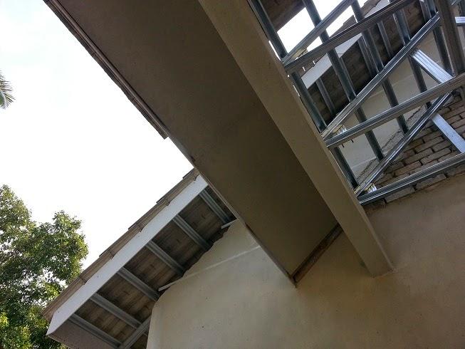 Pengalaman Bina Rumah Sendiri 12 Atap Amp Siling Luar