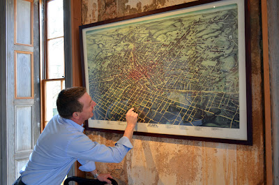 Map of historic Atlanta, Atlanta Preservation Center