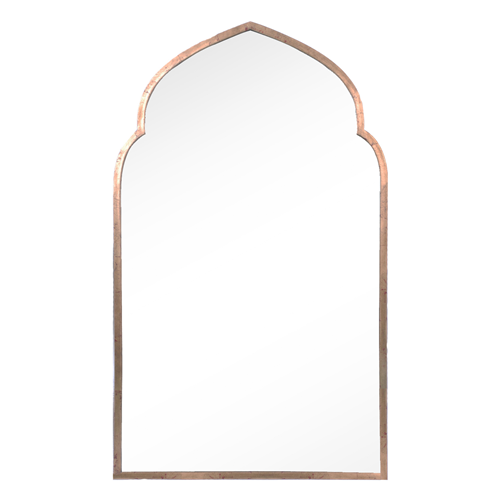 Copy Cat Chic Zinc Door Mirror Image Home Pointed Arch