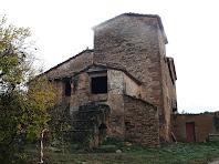 La torre i les tines de la masia antiga de La Massana