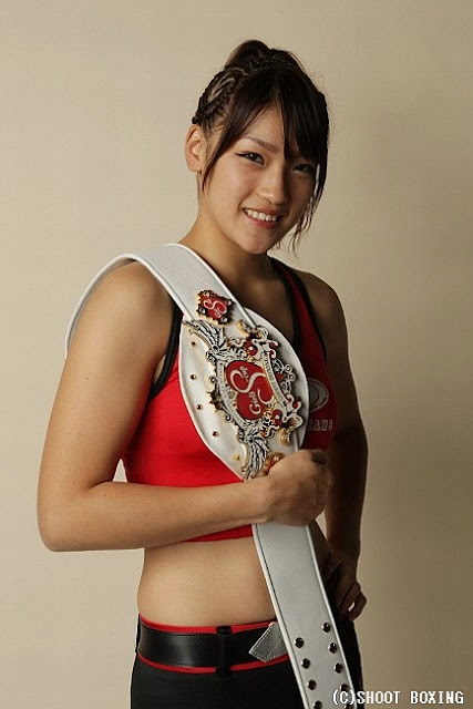 Rena Kubota-Female Kickboxer