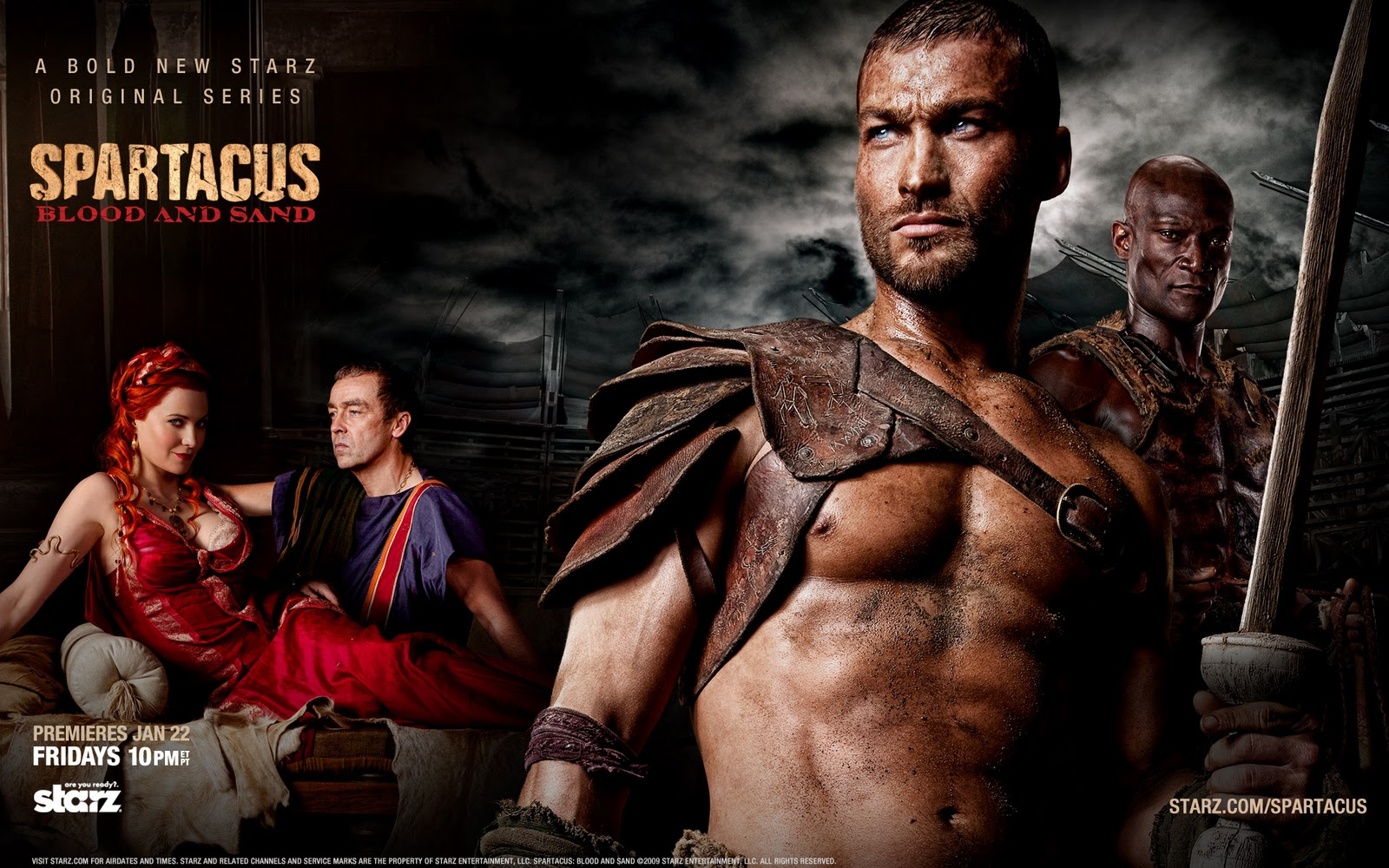 WATCH TV SHOWS FREE- LINKS AND VIDEOS: Watch Spartacus - Free Online ...