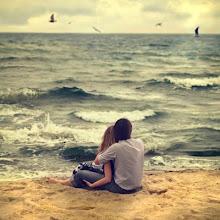 cuando lo abrazo es como si abrazara el cielo..