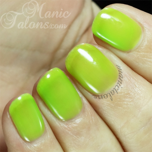 Purjoi One Step Gel Polish Electrify! Swatch