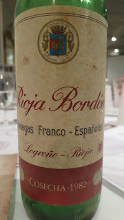 Rioja Bordón Gran Reserva 1982 - DO Rioja, Spain (91 pts)