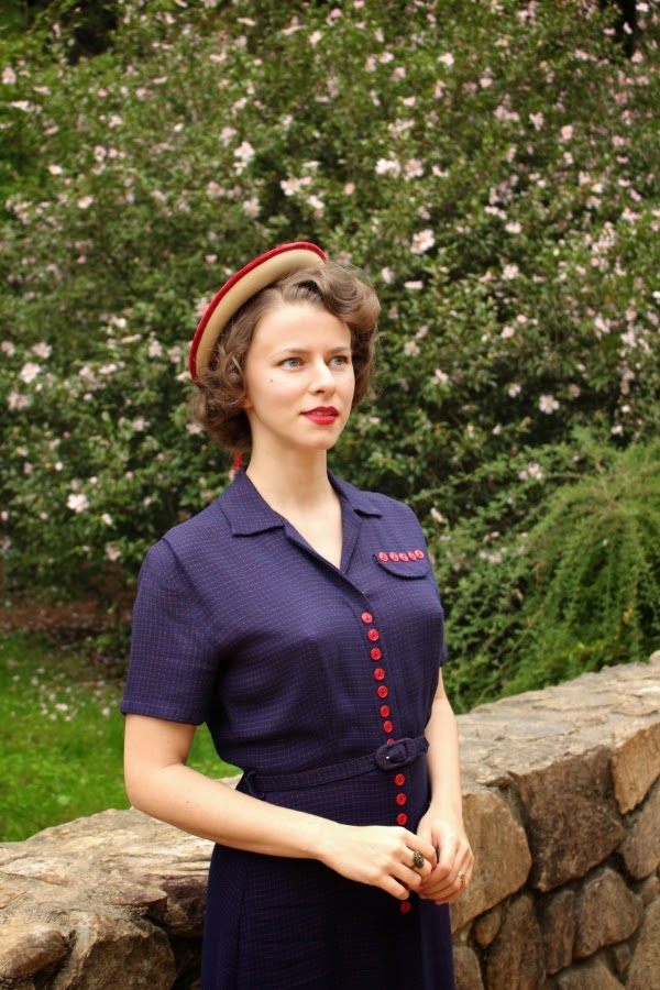 My Vintage Garden Party #1940s #garden #party #fashion