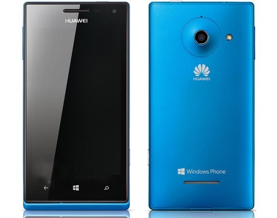 Technology Huawei W1 - First Windows Phone Smartphone