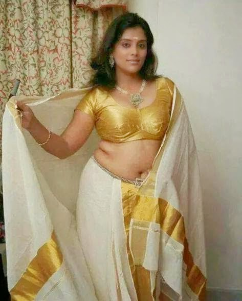 Solar Swapnam Actress Pooja Nair Navel Show In Set Saree Photos ...