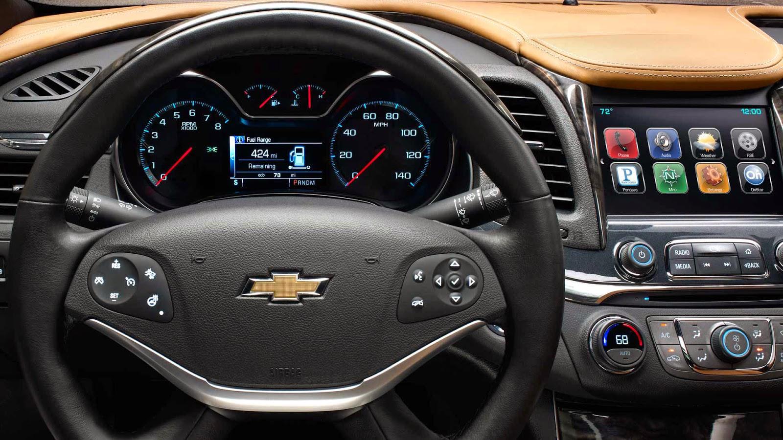 Download link for Chevrolet impala 2015 interior