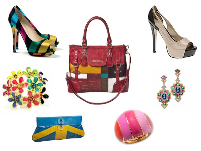 Color Blocking your Accessories