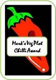 Mark's Veg Plot Chilli Award