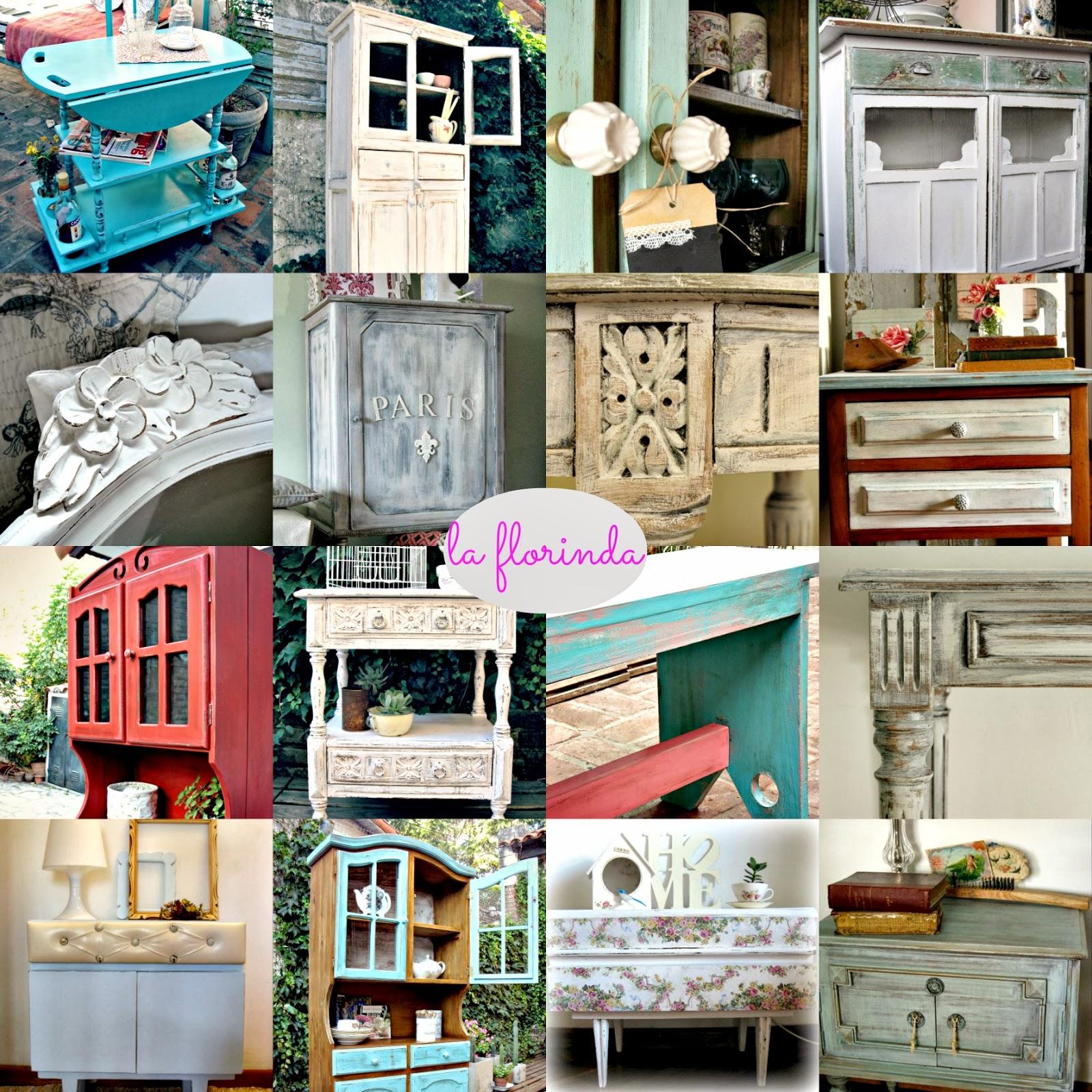 Tienda la florinda reciclaje y recuperaci n de objetos y for Vintage muebles y objetos