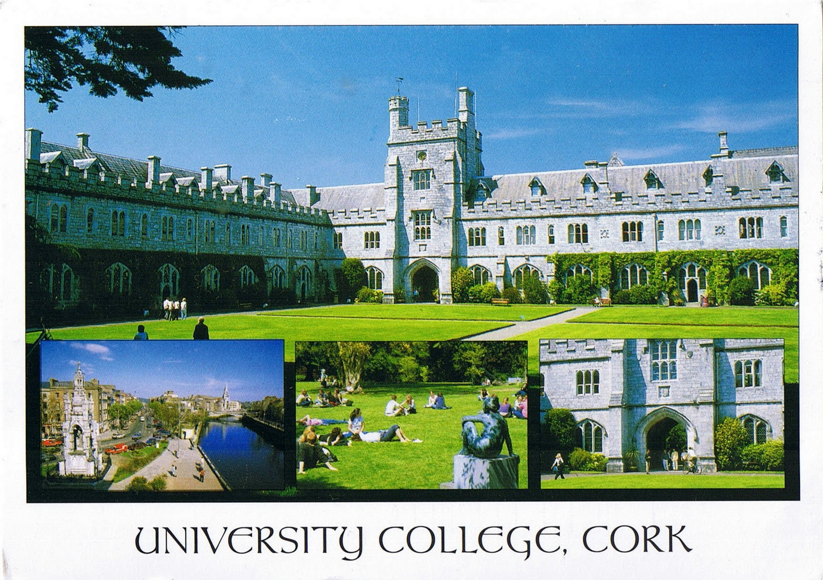 National university of ireland the university is located in cork