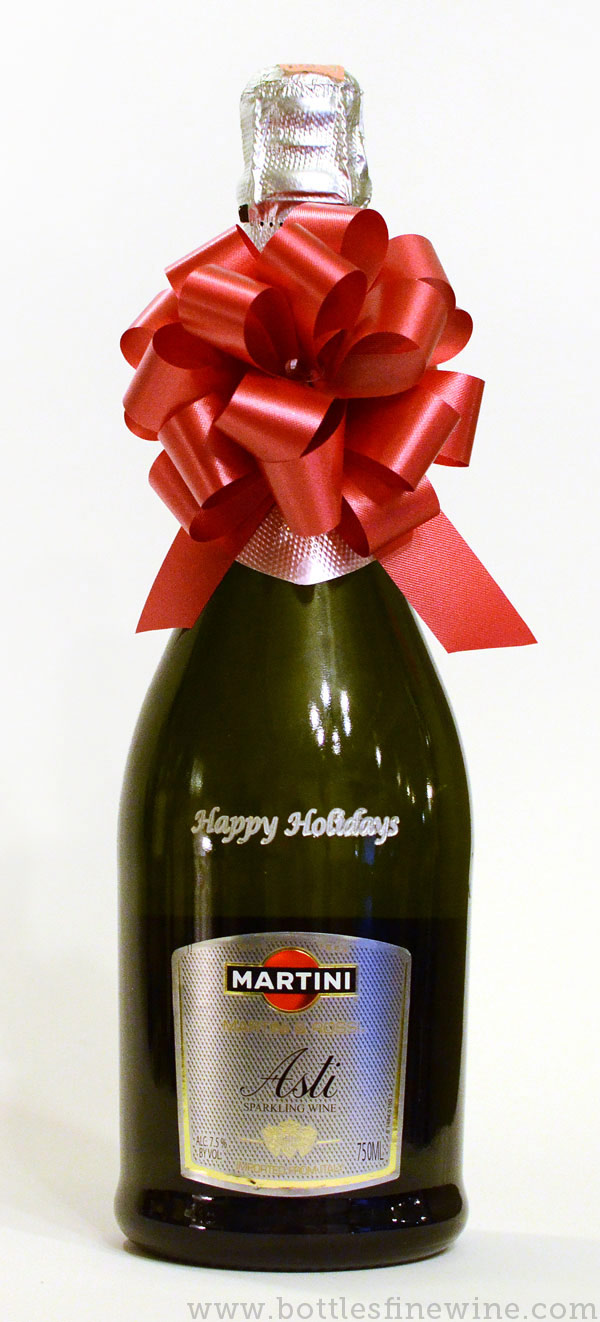 custom etching gifts champagne bottle