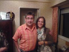 Con el padrino de este blog
