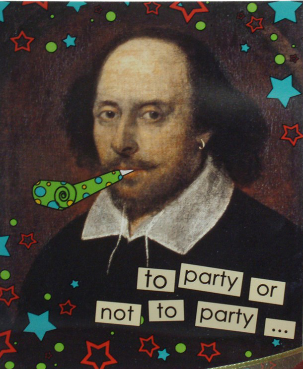 What Red Read: Happy Birthday Shakespeare!