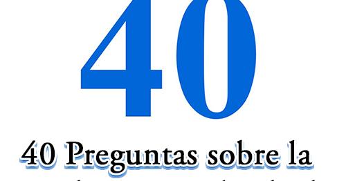 40 Preguntas sobre la Ley de Dios y el Sábado   Recursos Adventistas