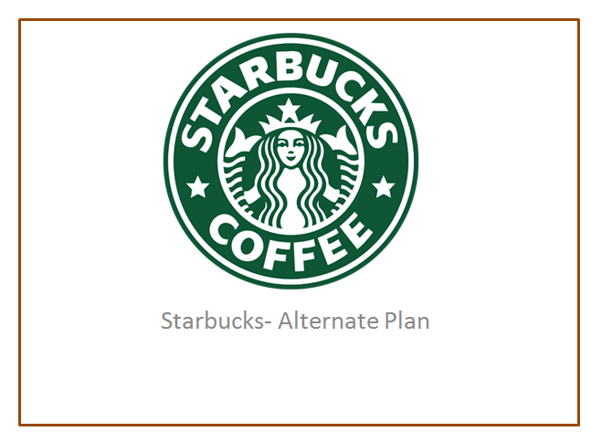 starbucks alternatives essay Some of the key alternatives would be tea and energy drinks starbucks essay essay on starbucks.