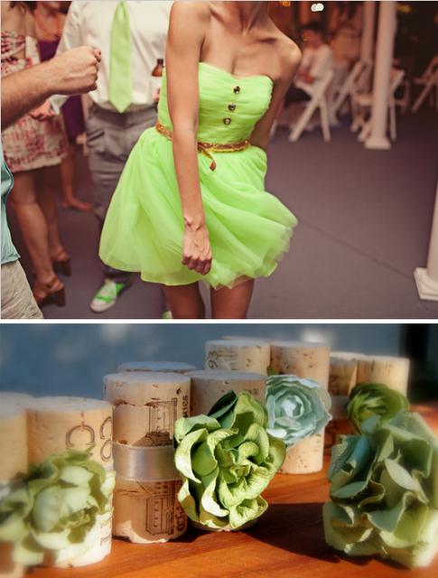 Guest Post Wedding Inspiration 37 Green Wedding