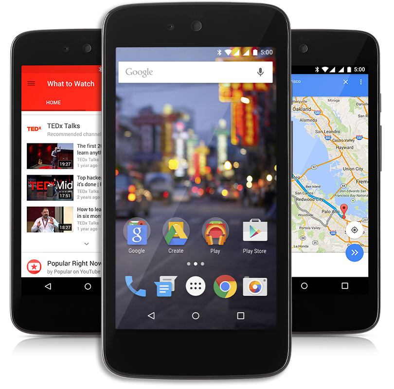 ANDROID ONE LAUNCH IN INDONESIA WITH ANDROID 5.1 LOLLIPOP