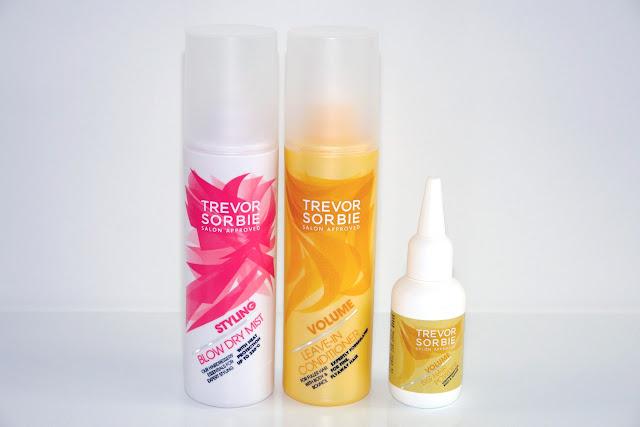 Trevor Sorbie Salon Approved Collection Trevor Sorbie Styling Blow Dry Mist Trevor Sorbie Volume Leave-In Conditioner Trevor Sorbie Volume Big-Hair Powder