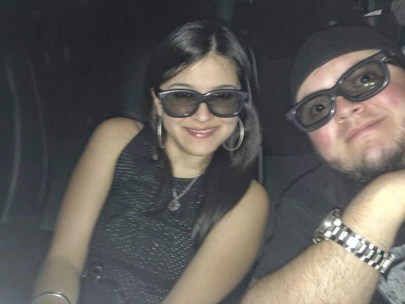 En el cine 3D