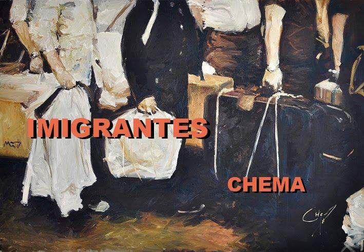 exposição imigrantes