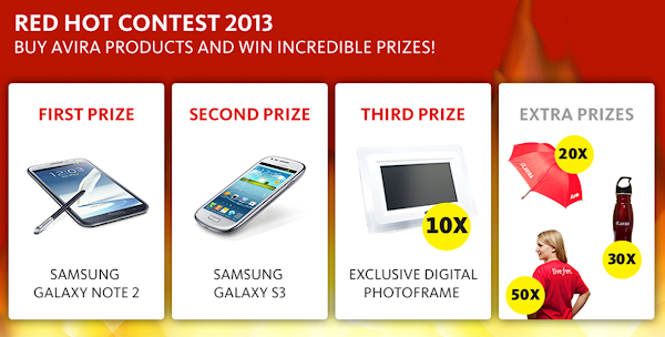 Avira 'Red Hot 2013' Contest