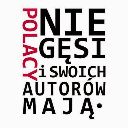 Gąski, gąski do... książek. Polskich autorów.