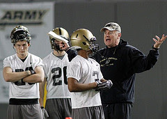 Coach Rich Ellerson by West Point Public Affairs via Flickr and a Creative Commons license
