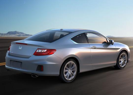 2013 Honda Accord 5 Star Safety Rating