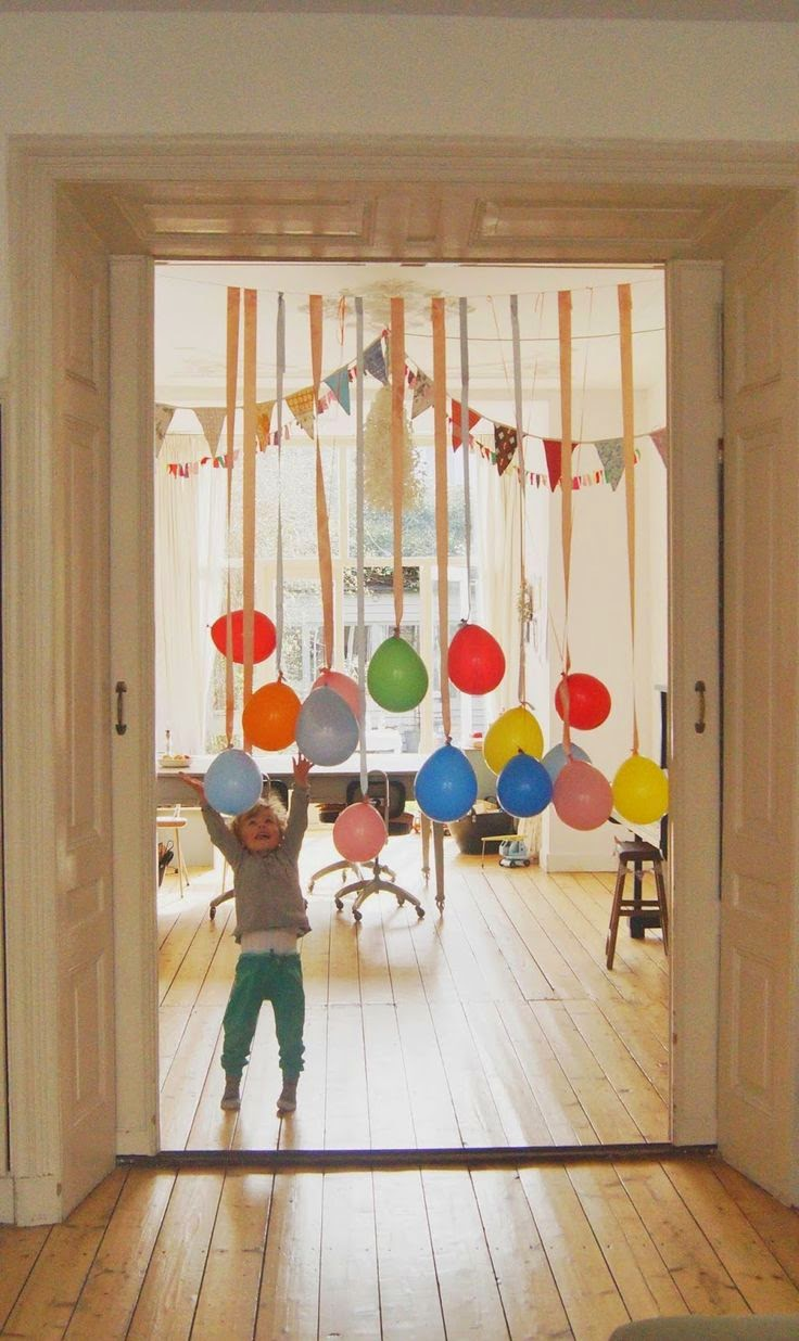 30 ideas de decoraci n con globos para cumplea os top 2018 for Paredes sensoriales