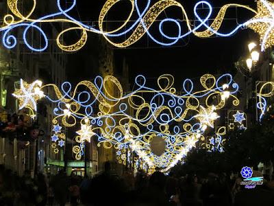 Sevilla - Navidad 2015 - Avenida de la Constitución