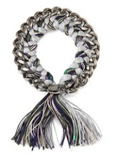 I Need This: Alyssa Norton Braided Silk and Sterling Silver Chain Bracelet