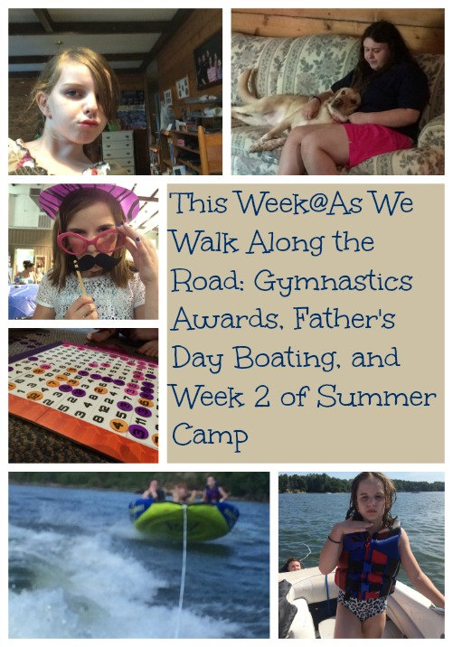 A look at our week- gymnastics awards, Father's Day fun, and more summer camp