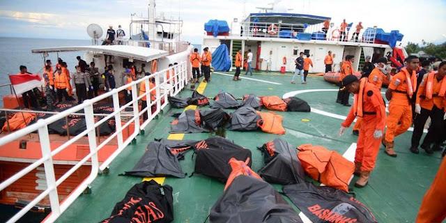 Ditemukan Sebanyak 106 Korban KM Marina