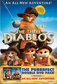 Download Gato de Botas Os três Diabos BDRip AVI RMVB Legendado