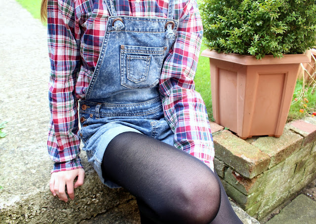 How I Style | Dungarees shirts primark fun cute tom boy