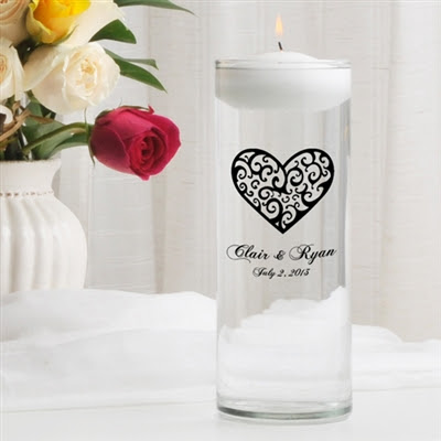 """Wedding Unity Candle: Keeping the """"light"""" of your future burning"""