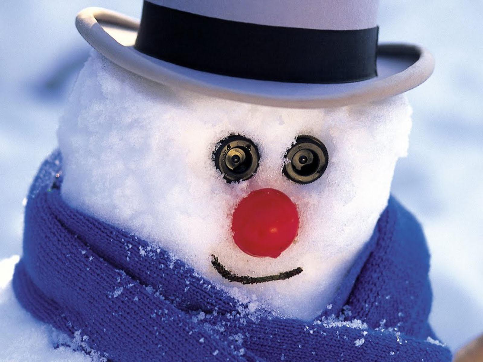 Wallpapers christmas snowman